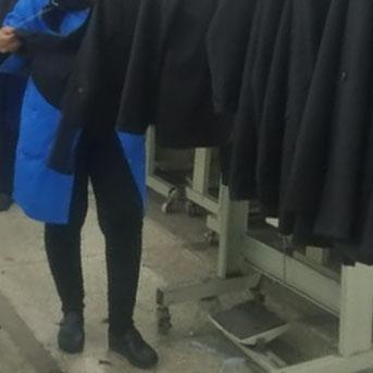 control de calidad de ropa